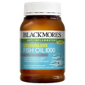 Blackmores Fish Oil Odourless 1000mg