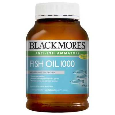 Blackmores Fish Oil 1000mg Capsules