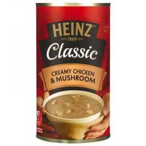 Heinz Classic Canned Soup Creamy Chicken & Mushroom