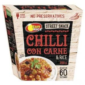 Sunrice Street Snack Chilli Con Carne