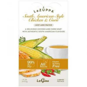 La Zuppa Microwave Soup Chicken & Corn