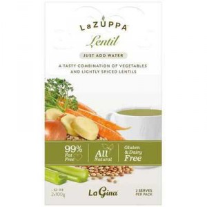 La Zuppa Microwave Soup Lentil