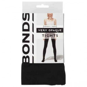 Bonds Comfy Tops Very Opaque Tights Black Med-lge
