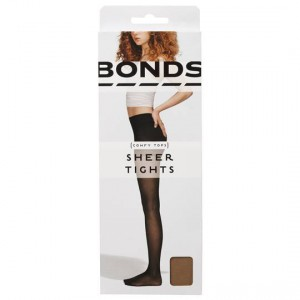 Bonds Comfy Tops Sheer Tights Nude Med