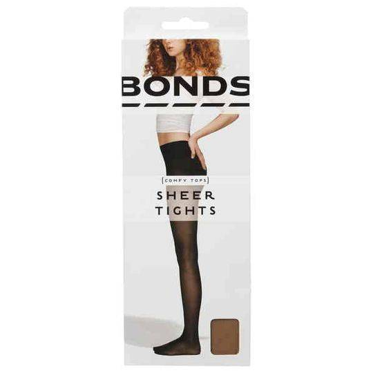 Bonds Comfy Tops Sheer Tights Nude Lge