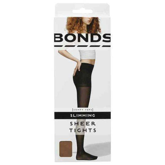 Bonds Comfy Tops Slimming Sheer Tights Nude Lge