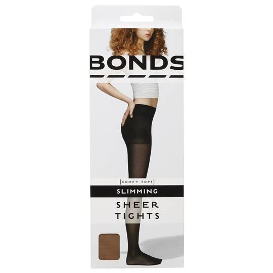 Bonds Comfy Tops Slimming Sheer Tights Nude Med