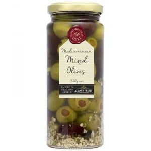 Always Fresh Olives Mixed Mediterranean Deli