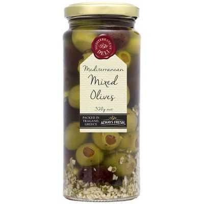 Always Fresh Olives Mixed Mediterranean Deli