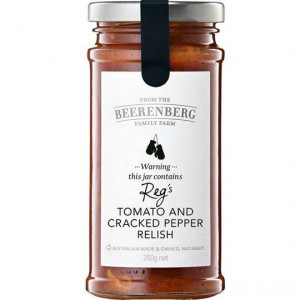 Beerenberg Relish Tomato & Black Pepper