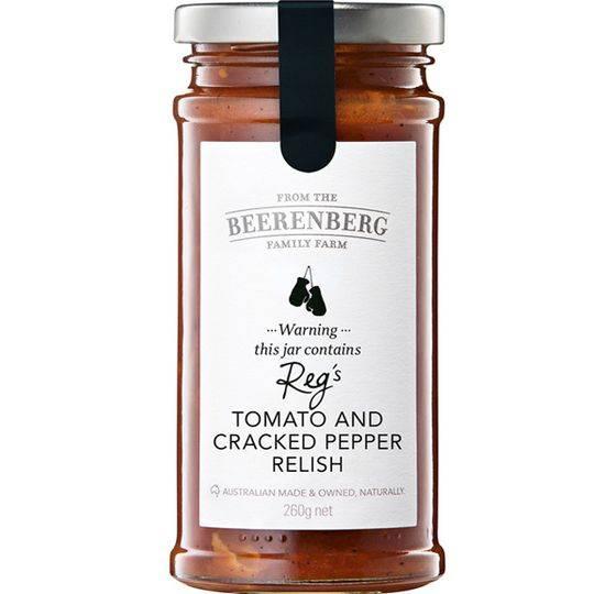 Beerenberg Relish Tomato & Black Pepper