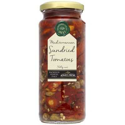 Riss Nixon reviewed Always Fresh Tomatoes Sun Dried Mediterranean Deli