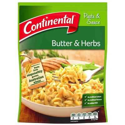 mom112217 reviewed Continental Pasta & Sauce Butter & Herbs