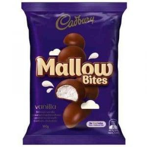 Cadbury Mallow Bites Vanilla