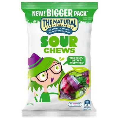 The Natural Confectionery Co Sour Chews