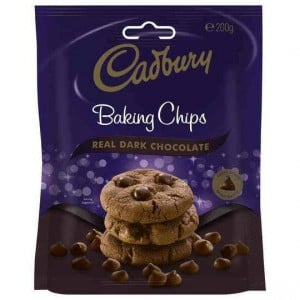 Cadbury Baking Dark Chocolate Chips
