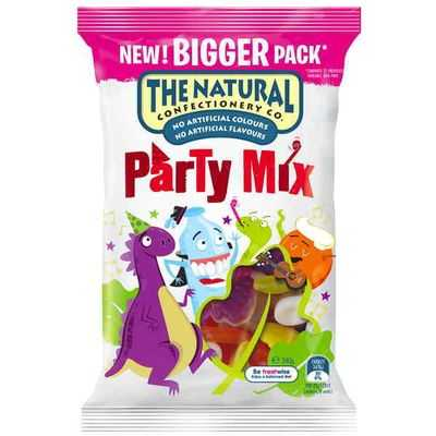 The Natural Confectionery Co Party Mix