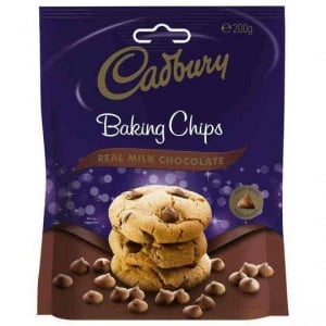 Cadbury Baking Milk Chocolate Chips