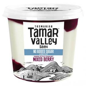 Tamar Valley Greek Style Yoghurt Mixed Berry No Added Sugar