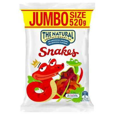 The Natural Confectionery Co Snakes