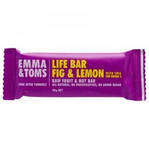 Emma & Toms Bar Fig & Lemon With Chia