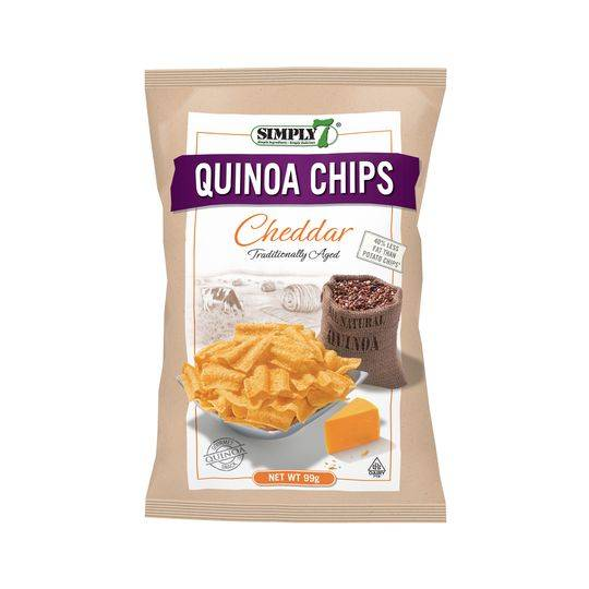 Simply 7 Quinoa Chips With Cheddar