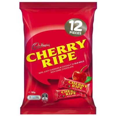 Aida Moroccan reviewed Cadbury Cherry Ripe Sharepack