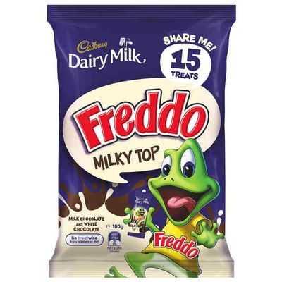 Cadbury Dairy Milk Freddo Frog Milky Top Sharepack