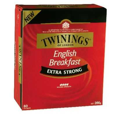 Twinings Extra Strong English Breakfast Tea Bags