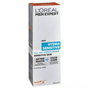 L'oreal Men Expert All-in-1 Moisturiser Sensitive Skin