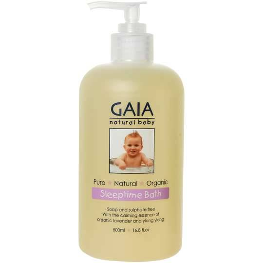 Gaia Natural Baby Bath Wash Sleeptime