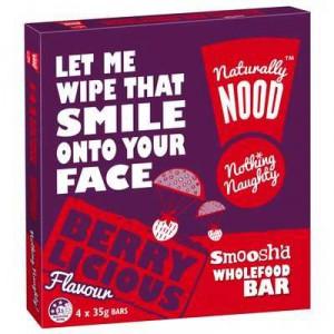 Naturally Nood Bar Berry Licious