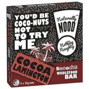 Naturally Nood Bar Cocoa Lamington