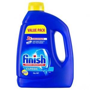 Finish Classic Dishwashing Powder Lemon