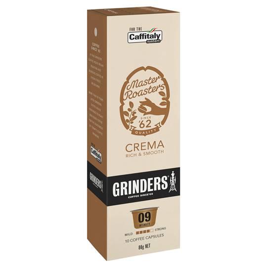 Grinders Crema Capsules
