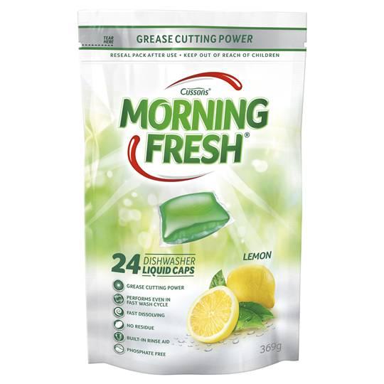 Morning Fresh Dishwashing Auto Liquid Caps Lemon