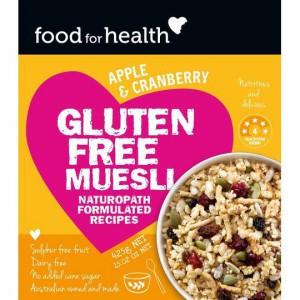 Food For Health Muesli Gluten Free