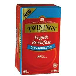 Twinings Decaffeinated English Breakfast Tea