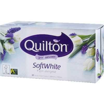 Quilton Facial Tissues Soft White