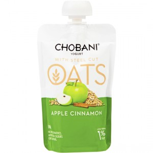 Chobani Oats Apple Cinnamon Yoghurt Pouch