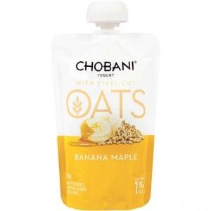 Chobani Oats Banana Maple Yoghurt Pouch