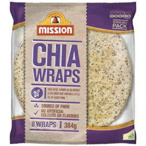 Mission Chia Wrap
