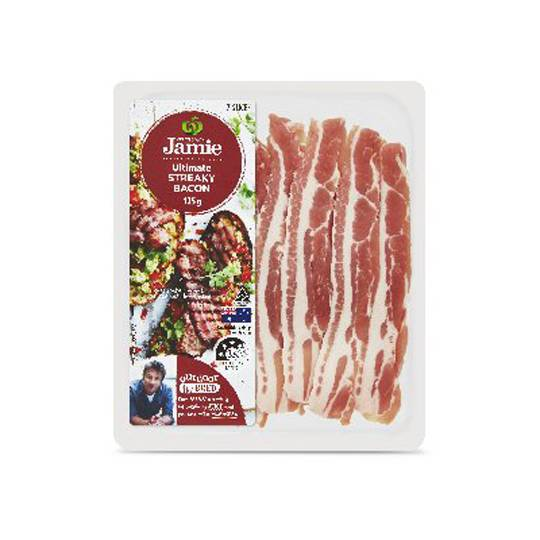 Created With Jamie Ultimate Streaky Bacon