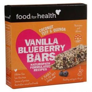 Food For Health Bars Vanilla/berry