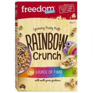 Freedom Foods Rainbow Crunch Cereal