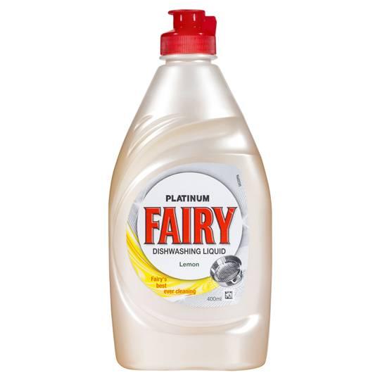 Fairy Platinum Dish Washing Liquid Lemon