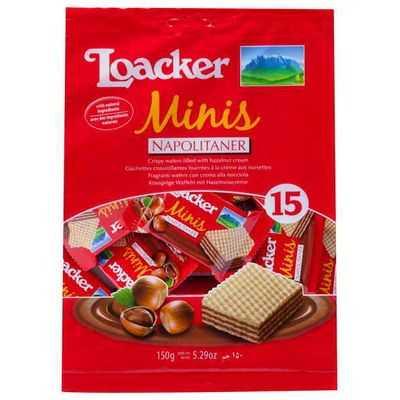 Loacker Hazelnut Minis