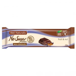 Well Naturally No Sugar Added Cereal Fruit & Nut Bar