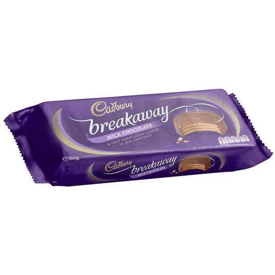 Cadbury Breakaway Milk Chocolate Biscuit