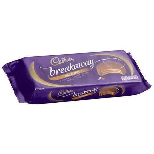 Cadbury Breakaway Hazelnut Biscuit